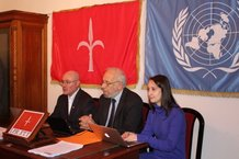 Press conference of the International Provisional Representative of the Free Territory of Trieste - I.P.R. F.T.T.