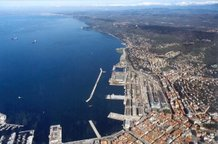 The international Free Port of the present-day Free Territory of Trieste
